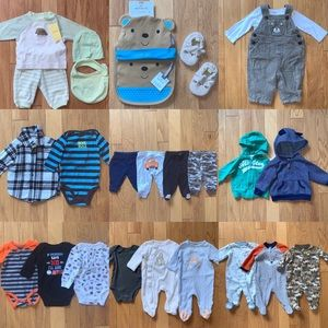 Bundle Mixed Lot of Boys Clothes size 3 months